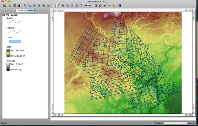 14. WHITEBOX GEOSPATIAL ANALYSIS TOOLS