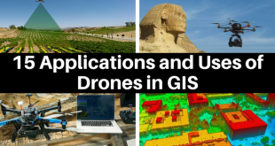 15 Applications and Uses of Drones in GIS