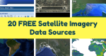 20 FREE Satellite Imagery Data Sources