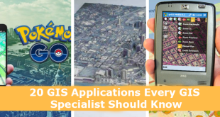 20 GIS Applications Every GIS Specialist Should Know