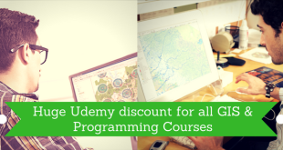 Huge Udemy discount for all GIS & Programming Courses