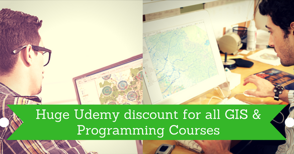 New Udemy Coupon for all GIS & Programming Courses