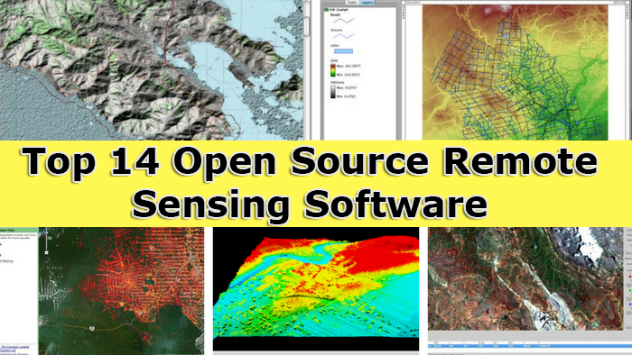 Top 14 open source remote sensing software Cao open source