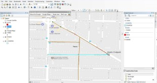 ArcGIS 10.5 tutorial – digitize shapefile from google maps