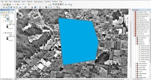 clip images in ArcGIS