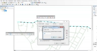 create equally polyline in ArcGIS