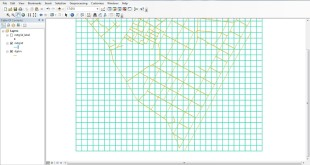 create net grid polygon/polyline in ArcGIS