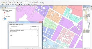 create topology in ArcGIS