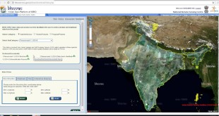 Free Satellite Images (LISS III) Download from ISRO's Bhuvan