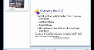 h Spatial Analysis Introductory Concept and Overview