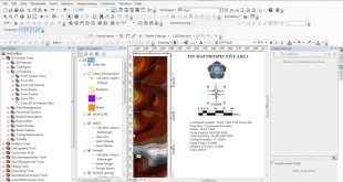 How to make automatic Scale and other atribute on ArcGIS layout