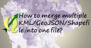 How to merge multiple KML/GeoJSON/Shapefile into one file?