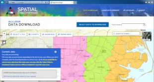 NC Lidar Spatial Data Download