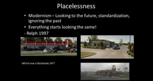 Sense of Place: A Video Lecture