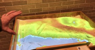 The Topographic Analog and Digital Sand Table
