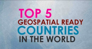 TOP 5 Geospatial ready countries in the World