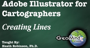 Adobe Illustrator for Cartographers 10: Creating Lines