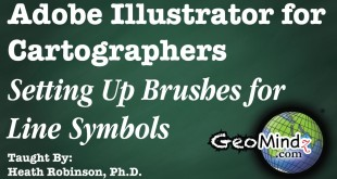 Adobe Illustrator for Cartographers 12: Setting Up Brushes for Line Symbols