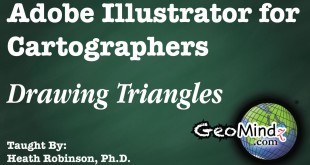 Adobe Illustrator for Cartographers 18: Drawing Triangles