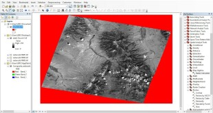 ArcGis 10 How to remove Nodata from Landsat using Raster Calculator