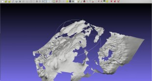 Basic 3d point cloud analysis in Meshlab, QGIS, and GRASS