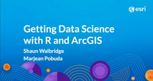 Getting Data Science with R and ArcGIS