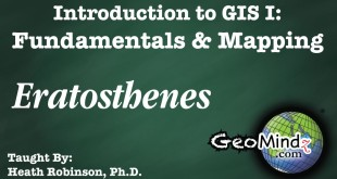 GIS Fundamentals and Mapping 3: Eratosthenes