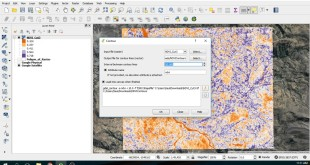 How to create contours from a Raster File – Example on a NDVI Layer