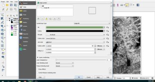 How to cut a Raster File on QGIS – Example on a NDVI Layer