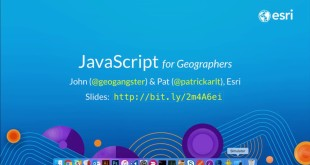 Javascript for Geographers