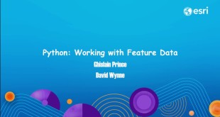 Python: Working with Feature Data