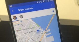 Share location in real time with Google Maps' new feature