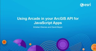Using Arcade in your ArcGIS API for JavaScript Apps