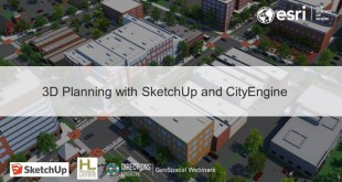 3D Planning with SketchUp and CityEngine