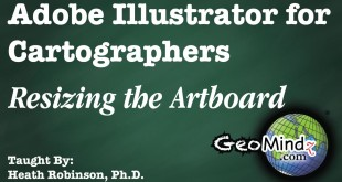 Adobe Illustrator for Cartographers 4: Resizing the Artboard
