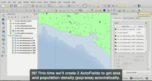 AutoFields, area and population density