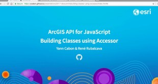Building Classes Using Accessor and the ArcGIS API for JavaScript