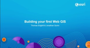 Building Your First Web GIS