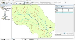 Calculating Stream Network Numbers usin ArcGis