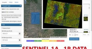 Download sentinel 1B and 1A data