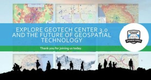 Explore GeoTech Center 3.0 and the Future of Geospatial Technology-5.17.2017