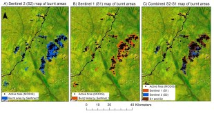 How satellite image helped detect forest fire in Congo