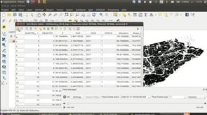 How to delete NULL geometries from a shapefile to make the MMQGIS plugin work