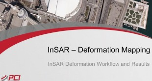 NEW – Determination of subsidence by InSAR in hydrogeology, mining, geotechnical engineering….