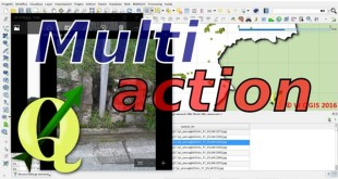 QGIS Multy-action
