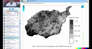 RS GIS Application in Irrigation Water Managment