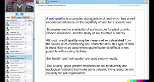 03 Geospatial approach in Soil Quality Assessment