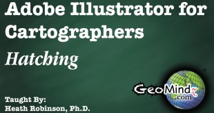 Adobe Illustrator for Cartographers 24: Hatching