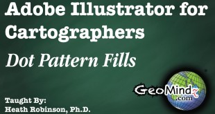 Adobe Illustrator for Cartographers 25: Dot Pattern Fills