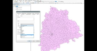 ArcGIS 10.x – Change dispaly of Projection to Lat_Long on ArcMap